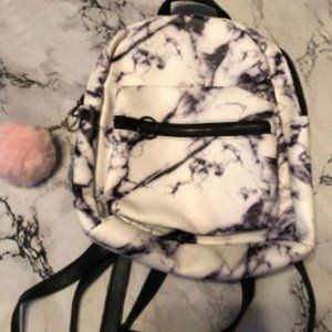 Marble mini backpack never used